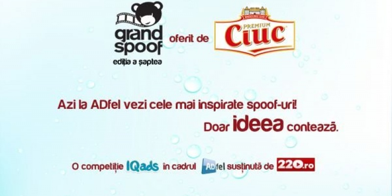 Azi aflam castigatorii Grand Spoof 2013, prezentat de Ciuc Premium