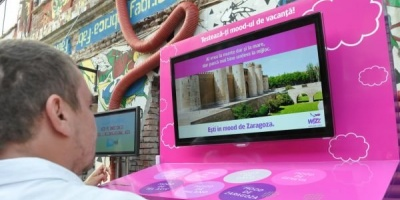 Participantii la ADfel 2013, cuplati cu destinatiile perfecte de catre superscanner-ul Wizz Air