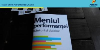 Meniul Performantei de la Petrom, subiect de conversatie la ADfel 2013