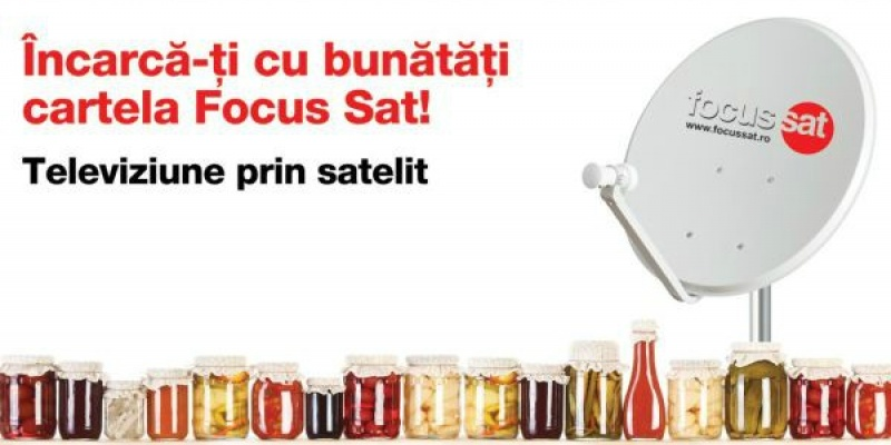 Top Hat Advertising semneaza campania de comunicare Focus Sat