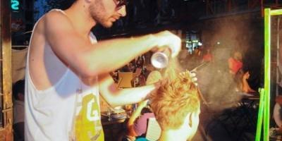 Wella Professionals si Sebastian Professional au aranjat cele mai wild frizuri la ADfel 2013
