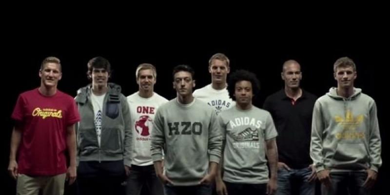 adidas lanseaza un spot pentru promovarea parteneriatului cu fotbalistul Mesut Ozil