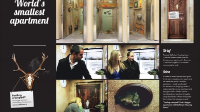 Raieisen Housing Loans – World's Smallest Apartment