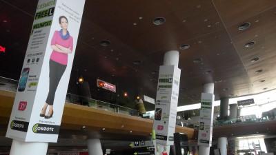 Cosmote Free - Oana Pellea (food court branding)