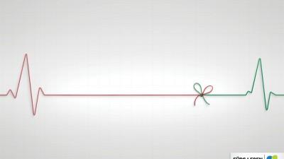Foundation for Life - Flatline ribbon