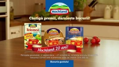 Hochland - Castiga premii, daruieste bucurii - promotie