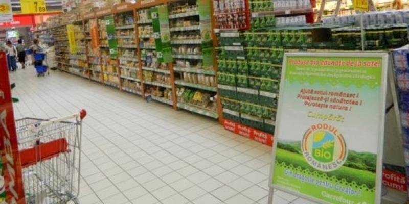 Din 12 septembrie, produsele bio se gasesc pe rafturile magazinelor Carrefour Romania