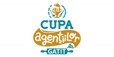 Logo-ul Cupei Agentiilor la Gatit – creat de BrainUP cu sare si piper