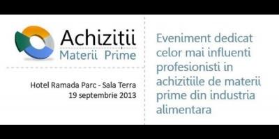 "Modern Buyer organizeaza evenimentul ""Achizitii materii prime"""