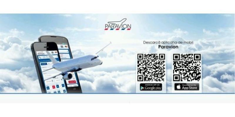 Rezervari si plati de bilete de pe smartphone prin aplicatia Paravion powered by Vodafone