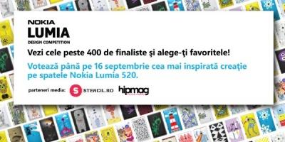 Ultimele zile de vot pentru Nokia Lumia Design Competition