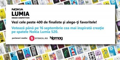 Inca mai poti vota design-urile finaliste la Nokia Lumia Design Competition
