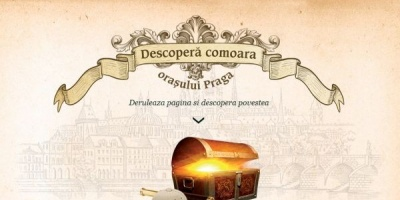 Un treasure hunt in Praga, integrat in campania promotionala Staropramen