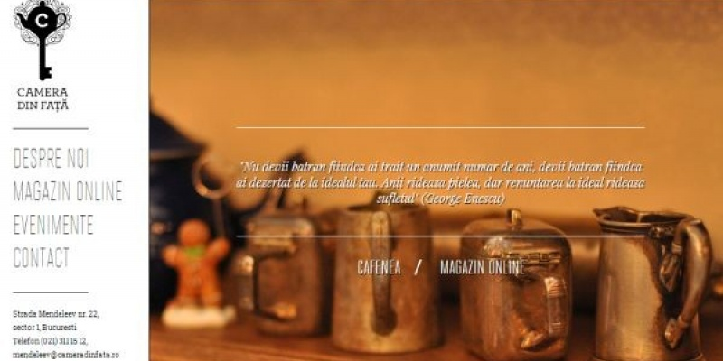 Craft Interactive a construit Camera din Fata online
