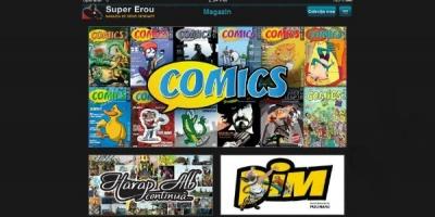 Noi titluri de benzi desenate pot fi accesate prin aplicatia Super Erou