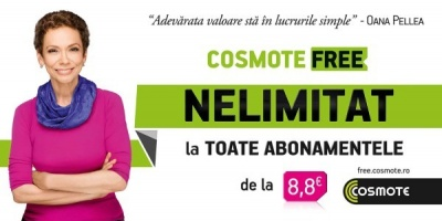 Oana Pellea, Constantin Lacatusu si Dumitru Prunariu, endorseri intr-o noua campanie COSMOTE