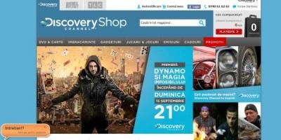 S-a lansat primul magazin online Discovery din Romania