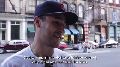 Rom Autentic - Vox pop pe strazile din New York