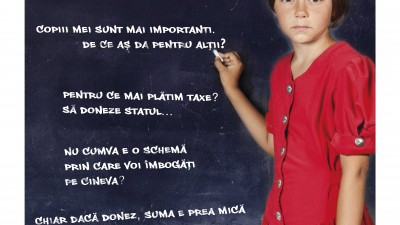 SOS Satele Copiilor - Alege o scuza sau alege sa te implici