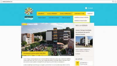 Webiste: avenor.ro - Homepage