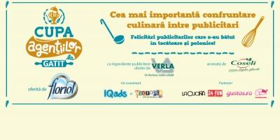 VERLA a oferit ingredientele publicitare la Cupa Agentiilor la Gatit FLORIOL