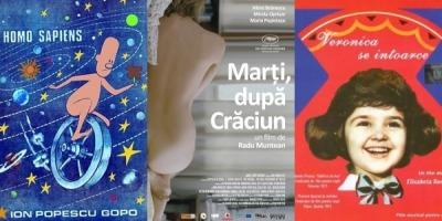 Afisul filmului romanesc