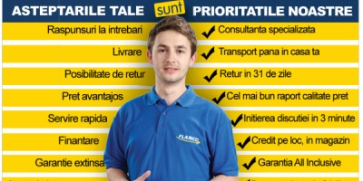 """Flanco lanseaza programul """"Asteptarile tale sunt prioritatile noastre"""""""