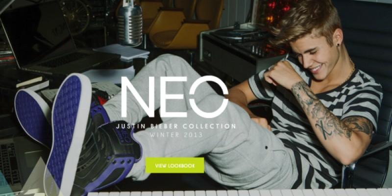Justin Bieber, protagonistul lookbook-ului interactiv adidas NEO