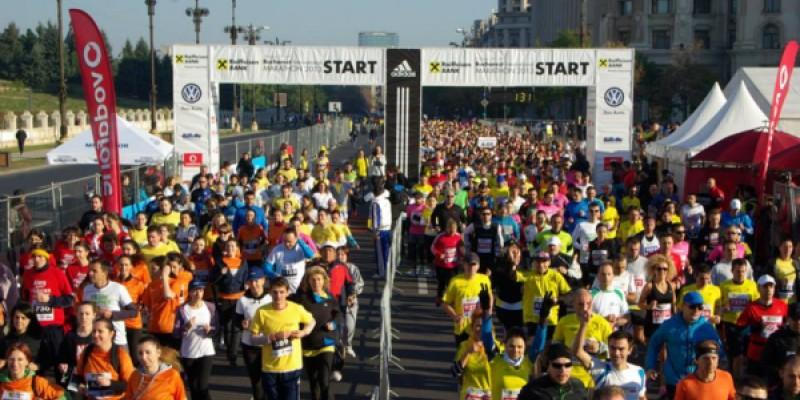 ING a oferit cate 10 euro pentru fiecare kilometru alergat de angajatii sai in cadrul Bucharest International Marathon