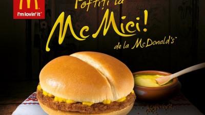 McDonald's - Poftiti la McMici