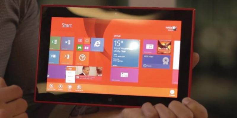 Lumia 2520 - noua tableta Nokia anuntata oficial