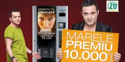 """Daniel Buzdugan si Mihai Morar, endorseri in campania de comunicare a promotiei """"Asculta sunetul castigator Doncafe"""""""