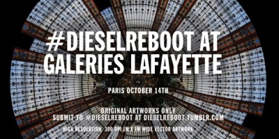 Revolutia artistica organizata de Diesel incepe cu Galeriile Lafayette