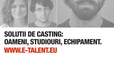 E-talent, prima platforma de casting online din Romania