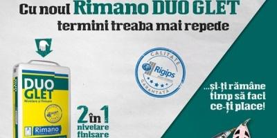 Saint-Gobain Rigips ofera sfaturi de petrecere a timpului liber intr-o campanie pentru Rimano DUOGLET, semnata Friends Advertising
