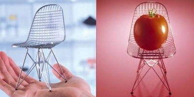 Istoria design-ului in 100 de miniaturi de scaune celebre, prezentata de Intro si Vitra Design Museum