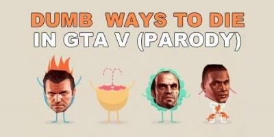 Noul material educational al tinerilor: parodia GTA V