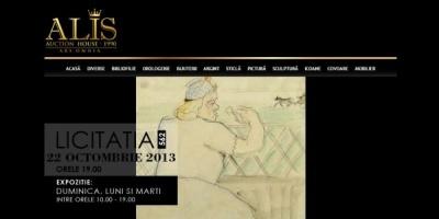 O noua identitate de brand dezvoltata de Remark Studio pentru casa de licitatii ALIS