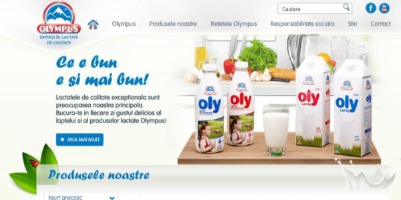 Retete video interactive propuse de noul website Olympus