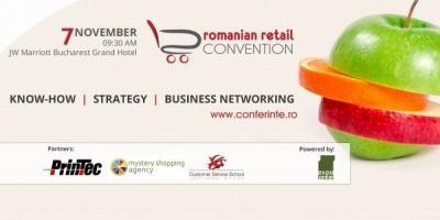 Prima editie Romanian Retail Convention are loc pe 7 noiembrie