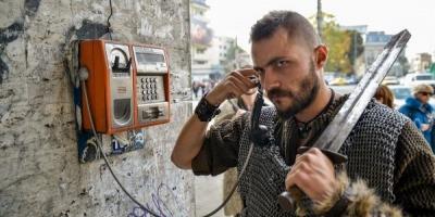 "GolinHarris a adus ""Vikingii"" in Bucuresti pentru HISTORY Channel"