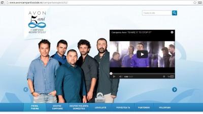 Website: avoncampaniisociale - Campania Respectului
