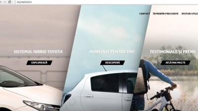 Website: toyotahsd.ro - Homepage