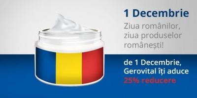 """Gerovital, Aslavital, Farmec si Doina spun """"La multi ani"""" romanilor cu reduceri de 25%"""