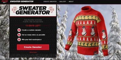 Cel mai urat pulover de Craciun