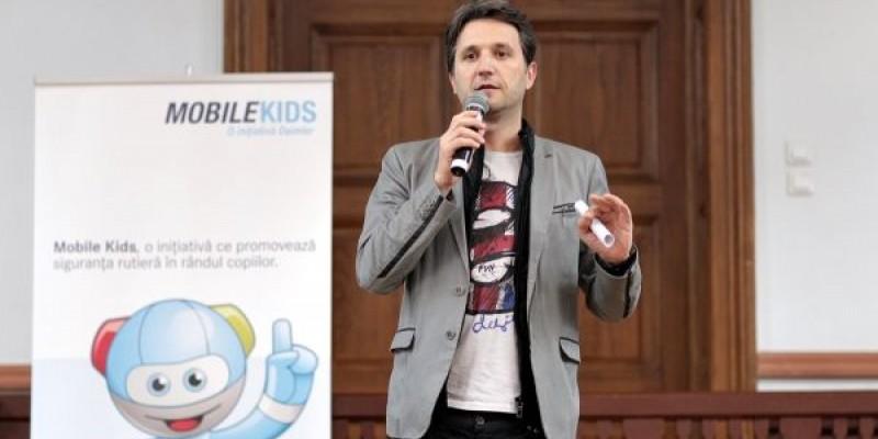 Programul educational Mobile Kids, adus de grupul Daimler pentru prima data in Romania