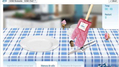Aplicatie de Facebook: Orbit Romania - Orbit Chef (Manusa)