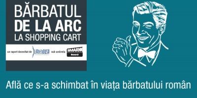 """""""Barbatul – de la arc la shopping cart"""" – un nou raport de cercetare SMARK Research din care aflam ce s-a schimbat in viata barbatilor romani"""