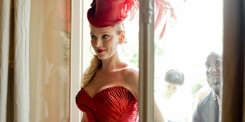 Uma Thurman joaca rolul principal in Calendarul Campari 2014