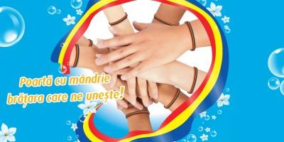 Dero incurajeaza publicul sa poarte bratari tricolore in luna decembrie